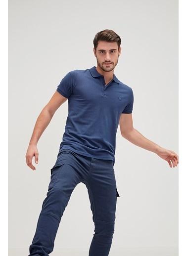 Bad Bear Tişört Mavi
